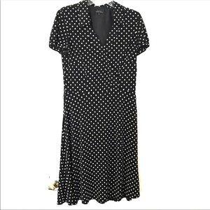 Tahari Arthur S. Levine Polka Dot Dress
